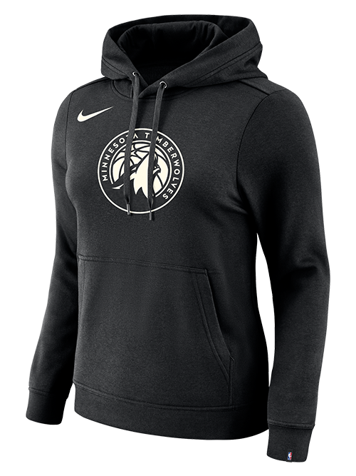 Minnesota Wolves Women's Logo Essential Hoodie