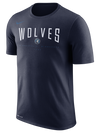 Minnesota Timberwolves Statement Stipe Polo - Blue