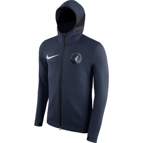 Minnesota Timberwolves Big & Tall Full Zip Fleece Hoodie