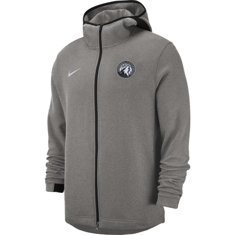 Minnesota Timberwolves Thermal Blue Long Sleeve Crew