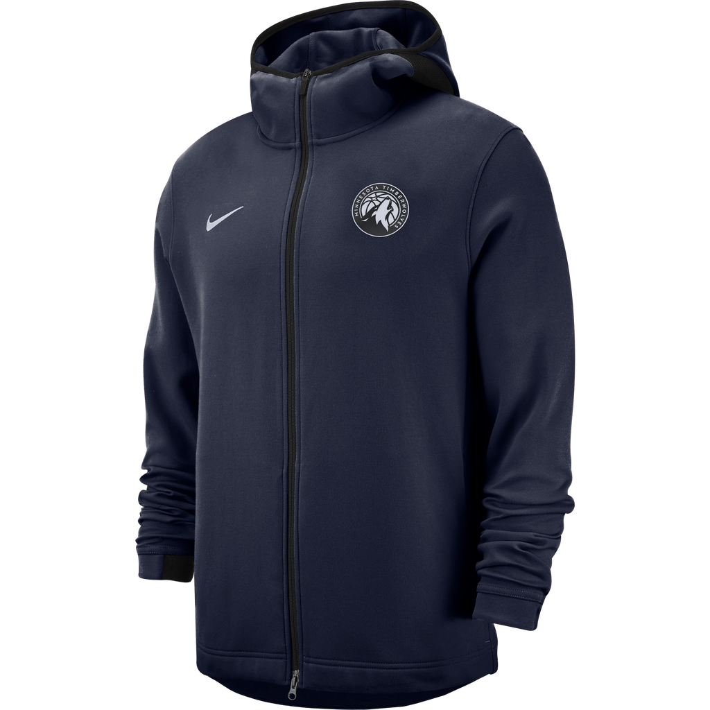 Minnesota Timberwolves Showtime Dry Hoodie - Navy - Timberwolves Team Store