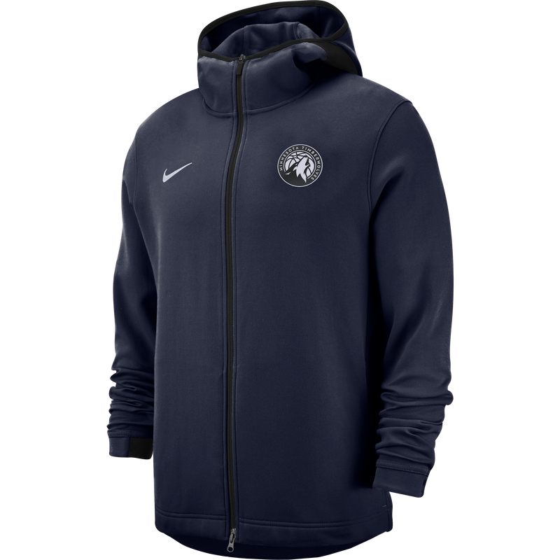 Minnesota Timberwolves Showtime Dry Hoodie - Navy