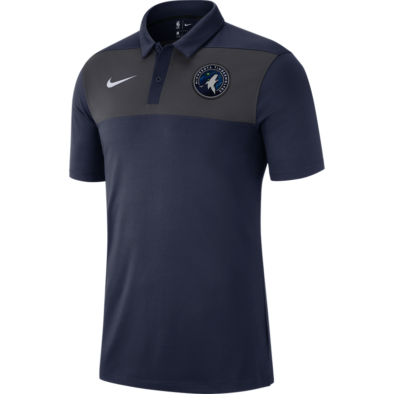 Minnesota Timberwolves Statement Stipe Polo