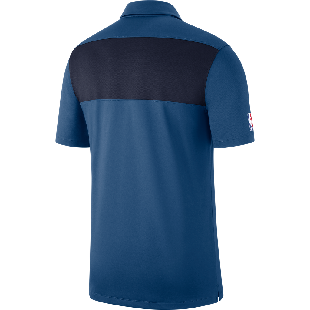 Minnesota Timberwovles Statement Stipe Polo - Blue
