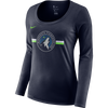 Minnesota Wolves Women's Element Half Zip Pullover