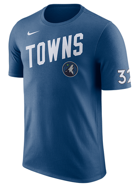 Minnesota Timberwovles Karl Anthony Towns Player T-Shirt