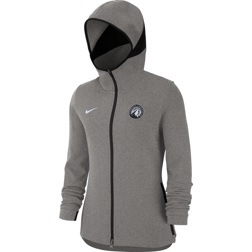 Minnesota Timberwolves Women's Dry Hoodie Showtime Full-Zip - Timberwolves Team Store