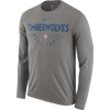 Minnesota Timberwolves Combine City Abbreviation T-Shirt - Green