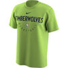 Minnesota Timberwolves Navy Wordmark Long Sleeve T-Shirt