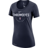 Minnesota Timberwolves Women's Pep T-Shirt - Navy