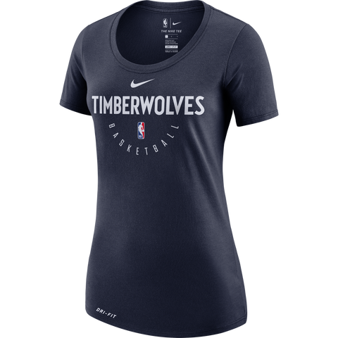 Minnesota Wolves Women's Team Name V-Neck