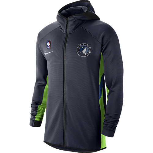 Minnesota Timberwolves Therma Flex Showtime Full Zip - Timberwolves Team Store