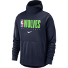 Minnesota Timberwolves Women's Times Two Flannel With Hoodie