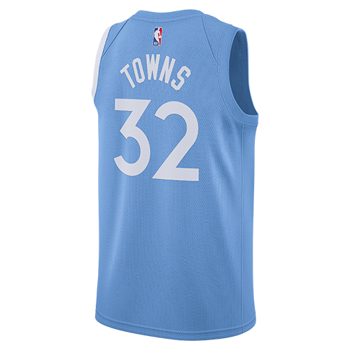 Minnesota Timberwolves Karl-Anthony Towns Swingman City Edition Jersey - Timberwolves Team Store