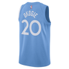 Minnesota Timberwolves D'Angelo Russell Authentic City Edition Jersey