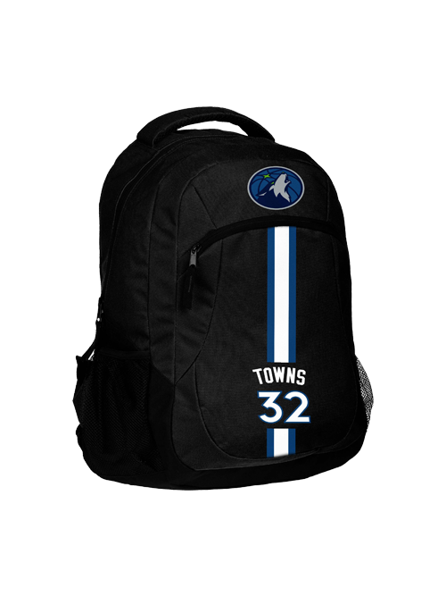 Minnesota Timberwolves Karl-Anthony Towns Action Backpack