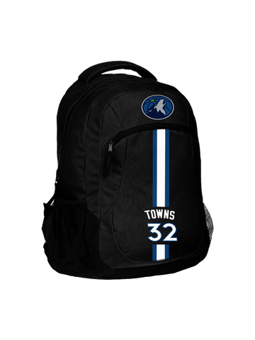 Minnesota Timberwolves Small Pebbled Orange Padfolio