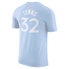 Minnesota Timberwolves Youth City Karl-Anthony Towns Player Tee - Light Blue