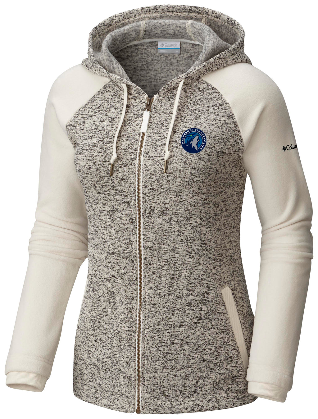 Minnesota Timberwolves Women's Darling Day Full Zip Hoodie - Timberwolves Team Store