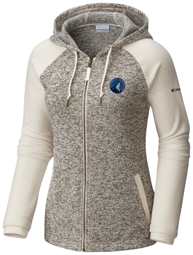 Minnesota Timberwolves Women's Darling Day Full Zip Hoodie