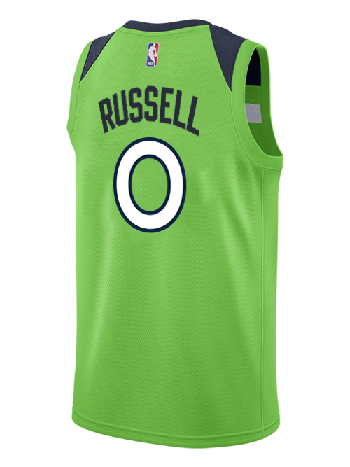 Minnesota Timberwolves D'Angelo Russell Swingman Statement Jersey - Timberwolves Team Store