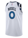 Minnesota Timberwolves D'Angelo Russell Swingman Association Jersey - Timberwolves Team Store