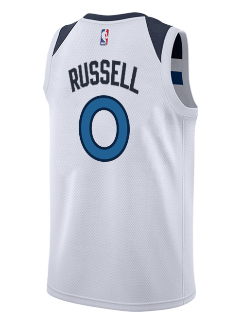 Minnesota Timberwolves D'Angelo Russell Association Swingman Jersey