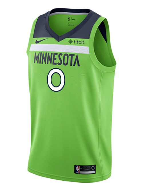 Minnesota Timberwolves D'Angelo Russell Swingman Statement Jersey