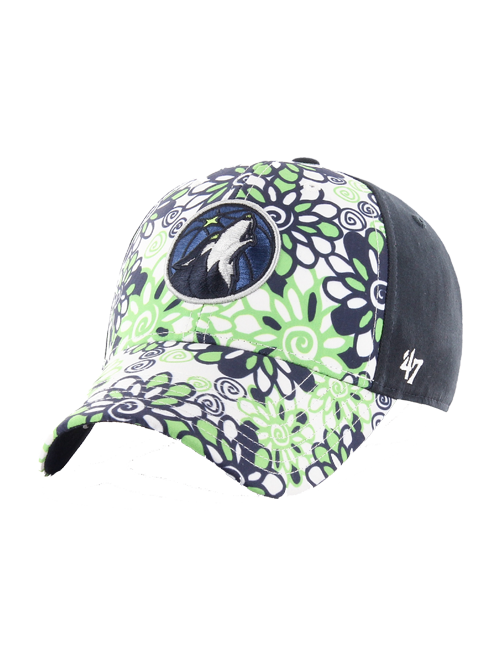 Minnesota Timberwolves Youth Girls Meadow Hat - Timberwolves Team Store