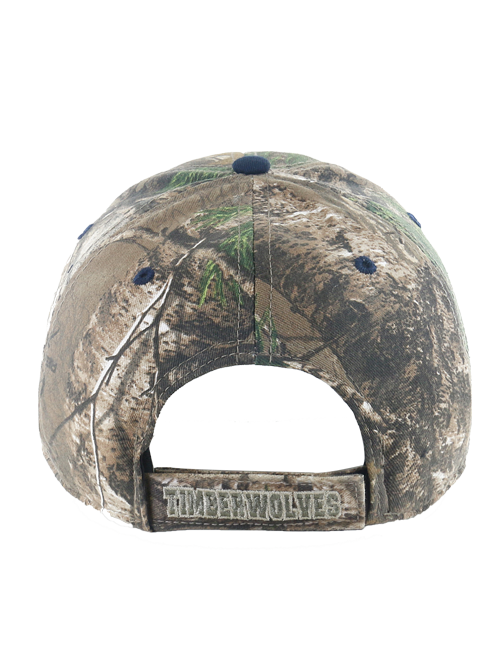 Minnesota Timberwolves Cap Realtree Frost Partial Adjustable Cap
