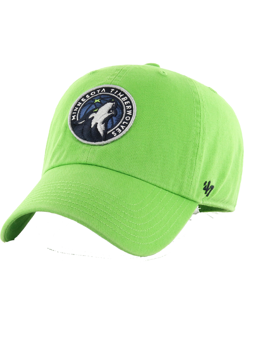 Minnesota Timberwolves Youth Clean Up Hat - Timberwolves Team Store