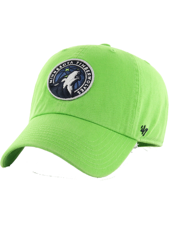 Minnesota Timberwolves Retro Wool Fitted Two-Tone Cap