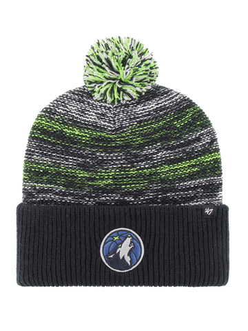 Minnesota Timberwolves Earned Edition Cuff Knit