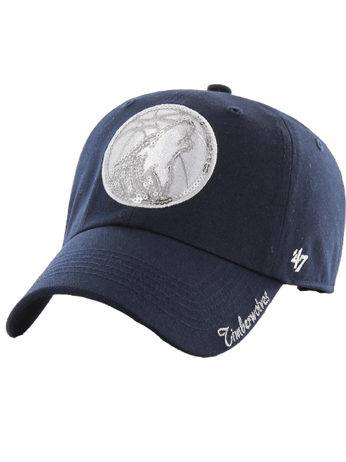 Minnesota Timberwolves Women's Sparkle Adjustable Hat - Timberwolves Team Store