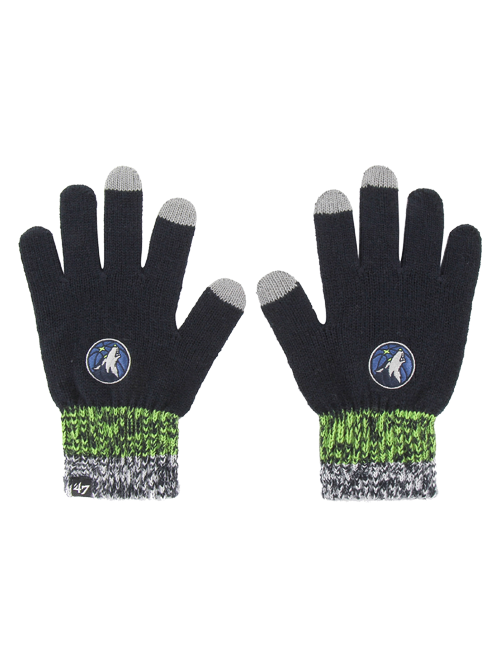 Minnesota Timberwolves Static Gloves - Timberwolves Team Store