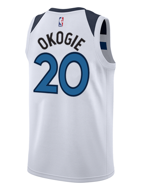 Minnesota Timberwolves Josh Okogie Swingman Association Jersey - Timberwolves Team Store