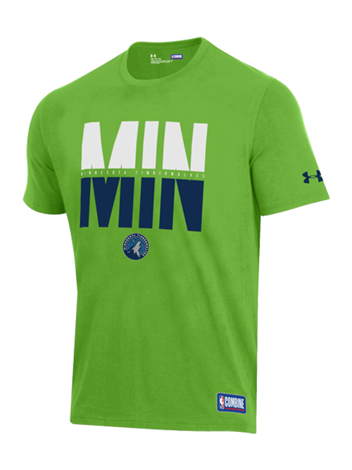56792163c usa minnesota timberwolves combine city abbreviation t shirt green 01021  ffa80