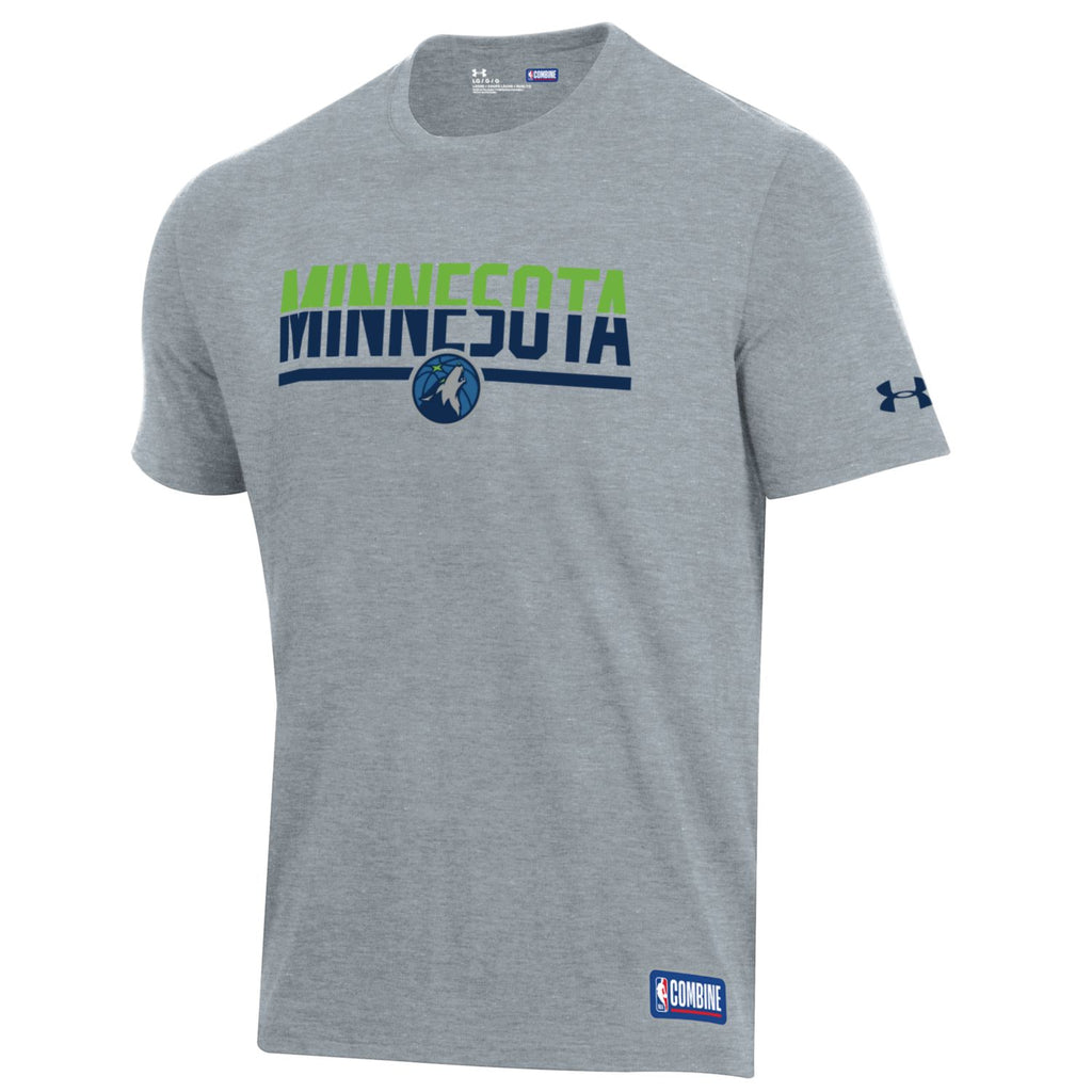 Minnesota Timberwolves Combine City Splits T-Shirt