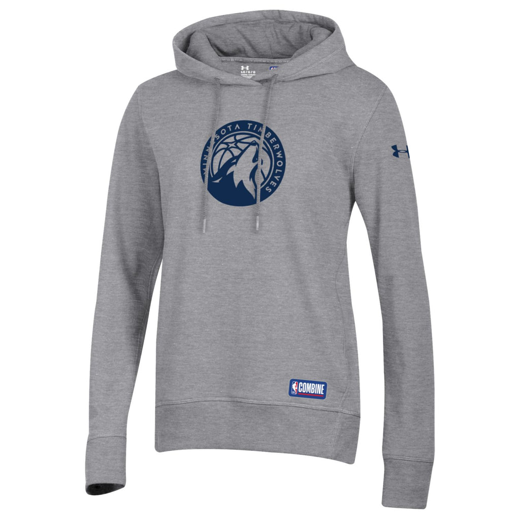 Minnesota Timberwolves Women's Fleece Hoodie Combine Threadborne Global