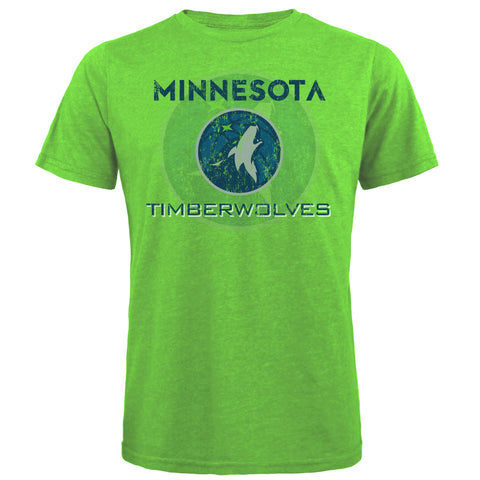 Minnesota Timberwolves Three Quarter Sleeve Raglan