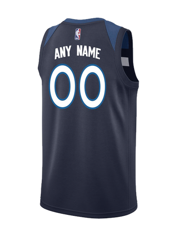 Minnesota Timberwolves Custom Icon Swingman Jersey