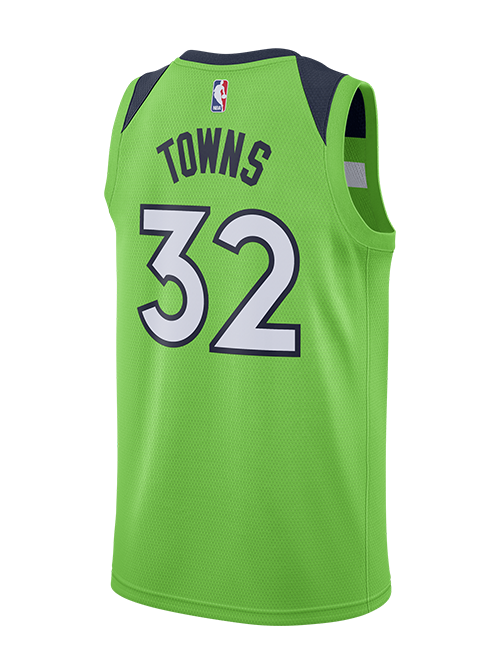 Minnesota Timberwolves Karl-Anthony Towns Statement Swingman Jersey - Timberwolves Team Store