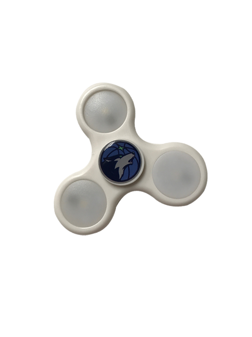 Minnesota Timberwolves LED Fidget Spinner - Timberwolves Team Store