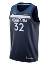 Minnesota Timberwolves D'Angelo Russell Swingman Association Jersey