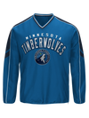Minnesota Timberwolves Big & Tall Poly Fleece Crew
