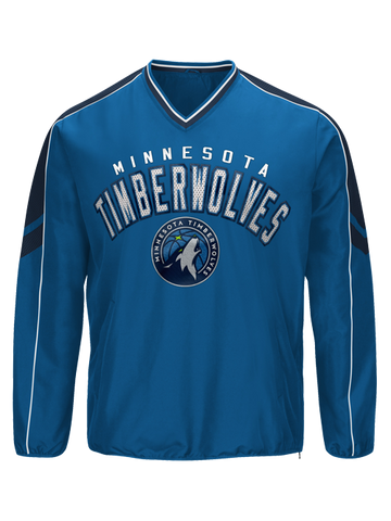 Minnesota Timberwolves Quarter Zip Combine Season - Grey