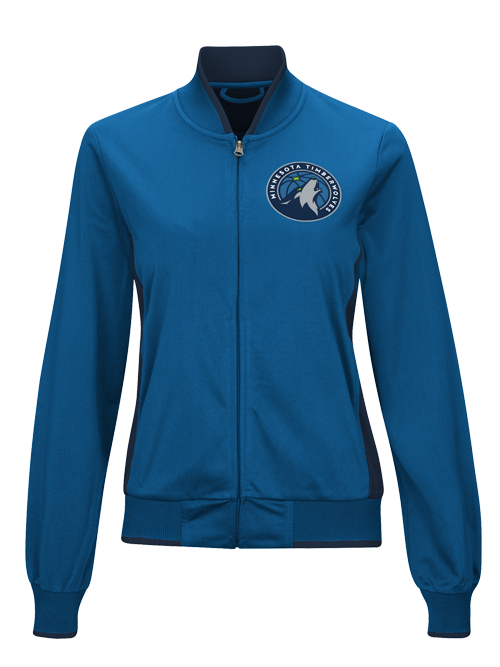 Minnesota Timberwolves Women's Triple Track Jacket - Timberwolves Team Store
