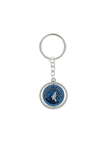 Minnesota Timberwolves Spinning Key Chain