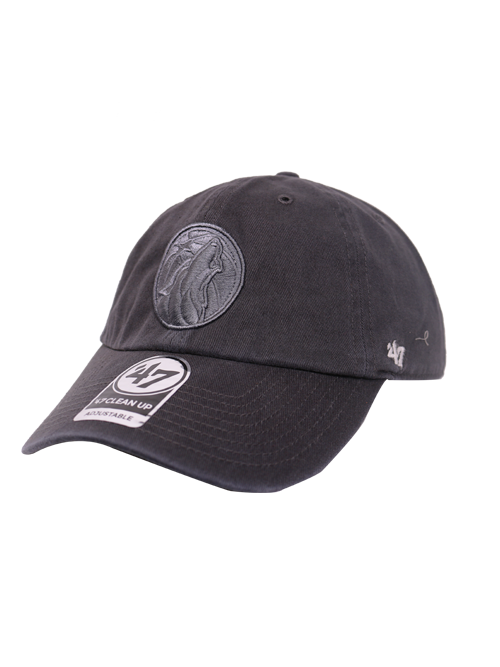 Minnesota Timberwolves Charcoal Clean Up Hat - Timberwolves Team Store