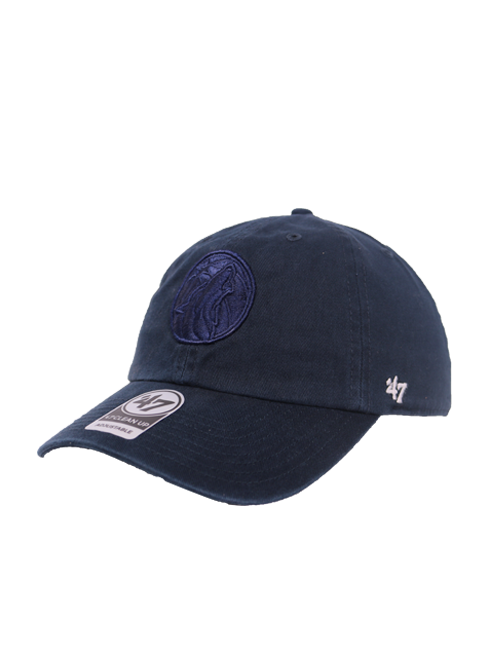 Minnesota Timberwolves Navy Primary Clean Up Hat